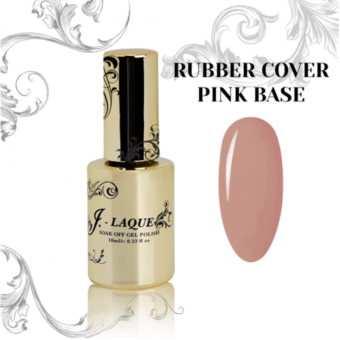 Rubber Base Cover Pink 10 ml